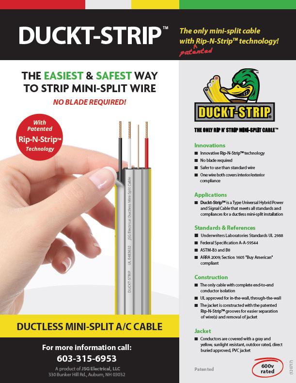 Duckt-Strip Flyer