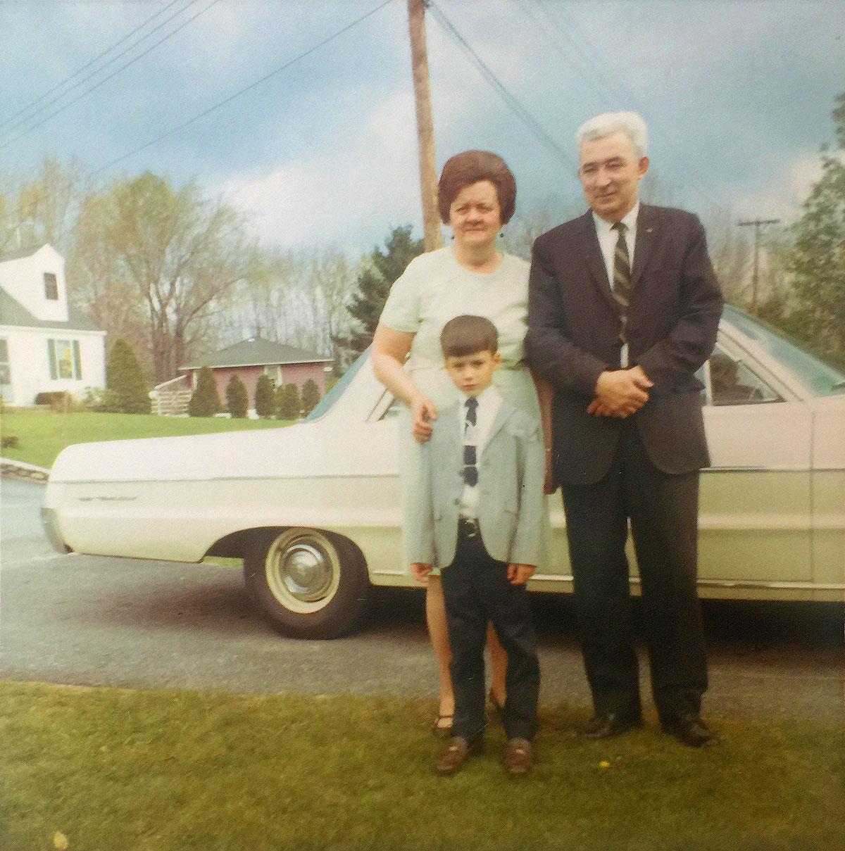 Craig Joyce's parents