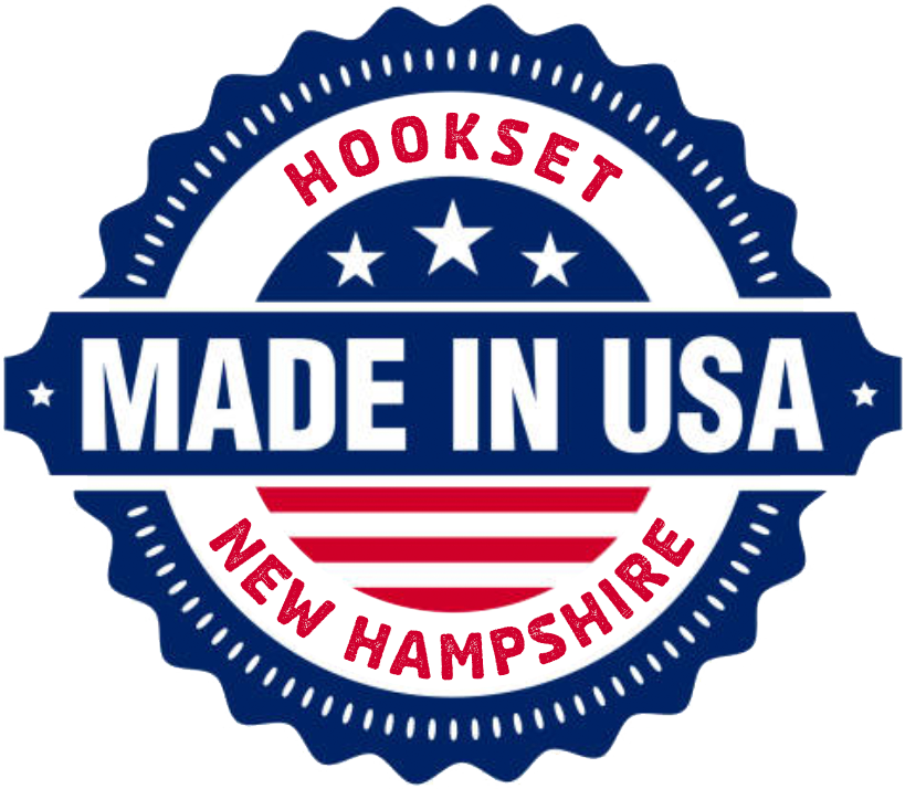 Made in Hookset, New Hampshire, USA